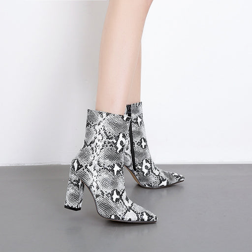 Sanke Pumps Ankle Boots