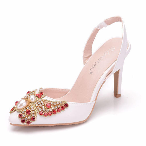 Bridal Sandals -Rhinestone Butterfly