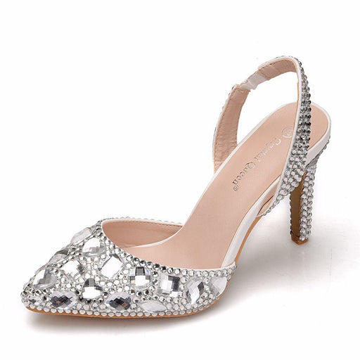 Wedding Sandals  - Crystal