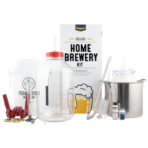 Brewmaster Deluxe Home Brewery Kit w/ Pale Ale Recipe Kit