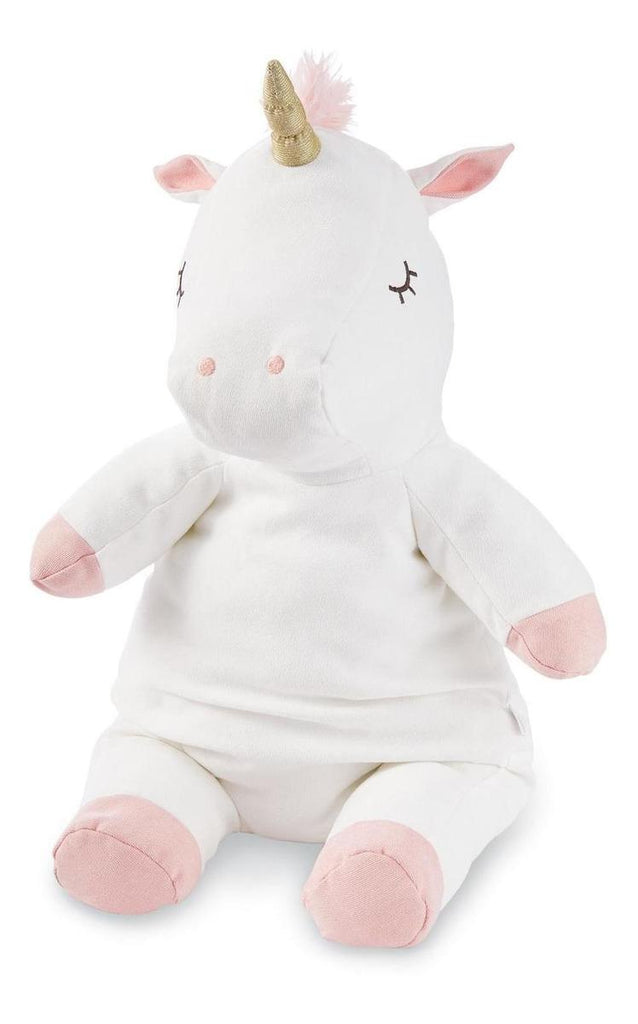 Peluche Mud Pie Unicornio Gd Blanco