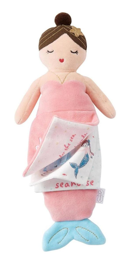 Peluche Mud Pie Mermaid Libro Rosa