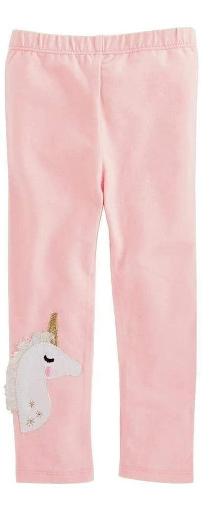 Leggins Mud Pie Unicorn Rosa L