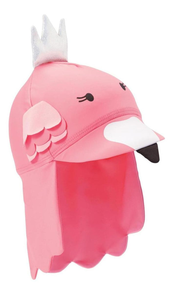 Gorro Flamingo Mud Pie Fucsia 2-5t