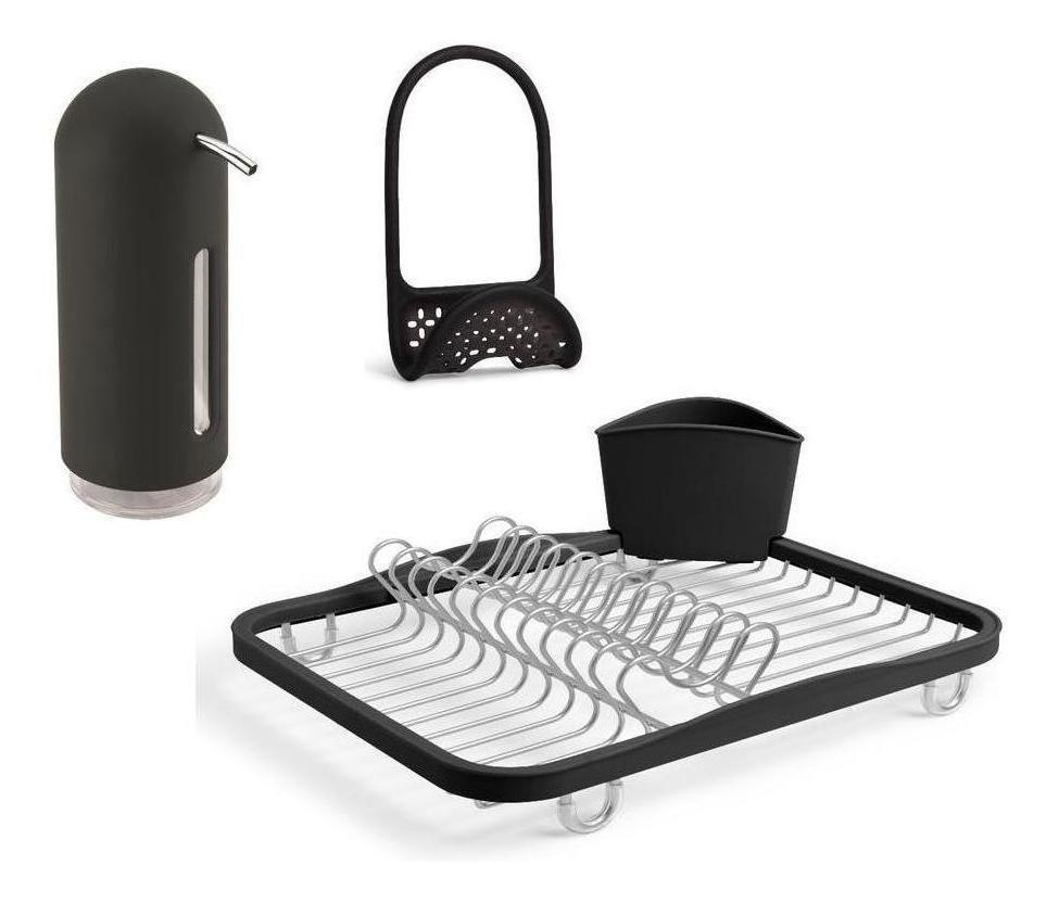 Umbra Kit Accesorios Kitchen Negro