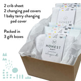 OH BABY! 50-Piece Gift Set, Pure White