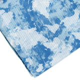 2-Pack Organic Cotton Swaddle Blankets in Gift Box, Watercolor World/Navy