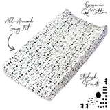Organic Cotton Changing Pad Cover, Pattern Play Featured