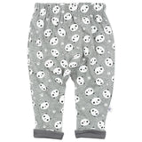 Organic Cotton Turn-Back Cuff Harem Pant, Panda