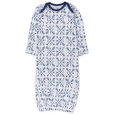 2-Pack Organic Cotton Sleeper Gowns, Compass