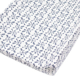 Organic Cotton Changing Pad Cover, Compass