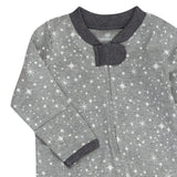 Organic Cotton Sleep & Play, Twinkle Star Gray