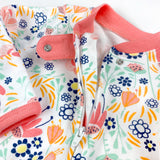 Organic Cotton Sleep & Play, Flower Power