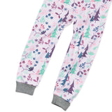 Organic Cotton Snug Fit Footless Pajama, Enchanted Forest