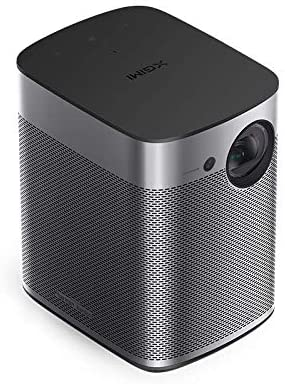 XGIMI Halo Smart Mini Projector, 1080P FHD 800 ANSI Lumen Portable Projector, Android TV 9.0, Support 2K/4K, Portable WiFi/Bluetooth Harman/Kardon Speaker, Indoor/Outdoor Theater - Ople Appliances