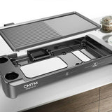 CMTM CMTM-KP10 Separable Electric Grill Household Electric Bakeware Barbecue Plate Korean Non-stick Barbecue Pot Grill Iron Plate BBQ Meat Machine - Ople Appliances