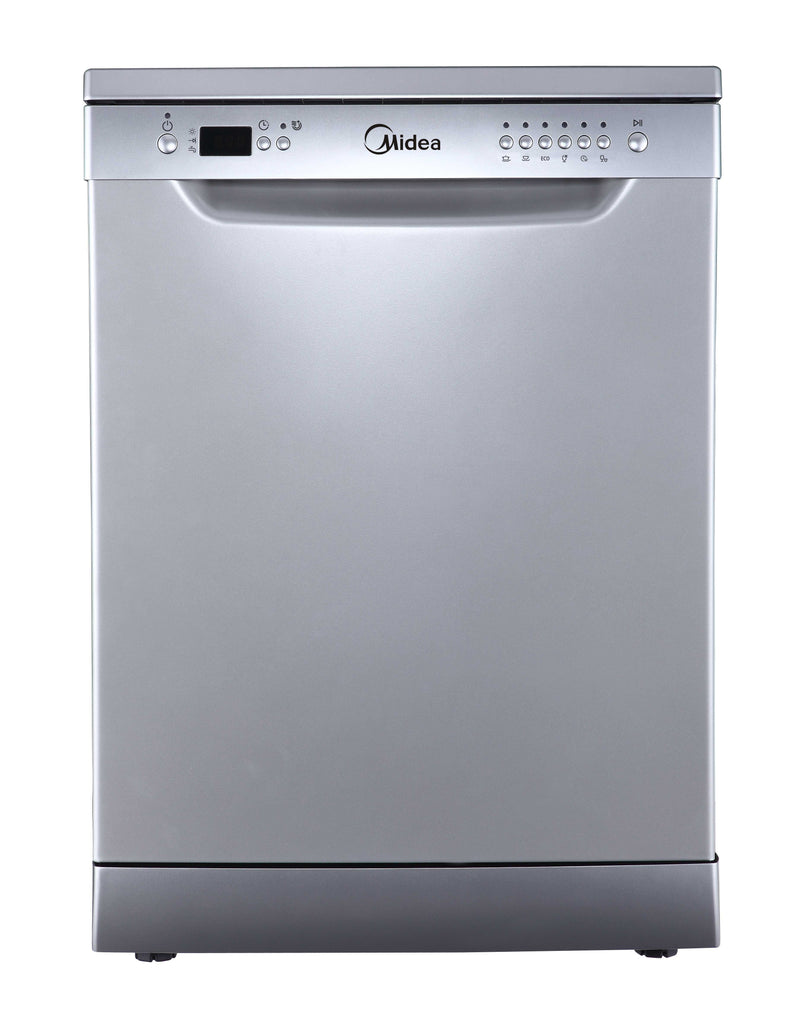 Midea MDWCSS 60cm Freestanding Dishwasher White - Ople Appliances