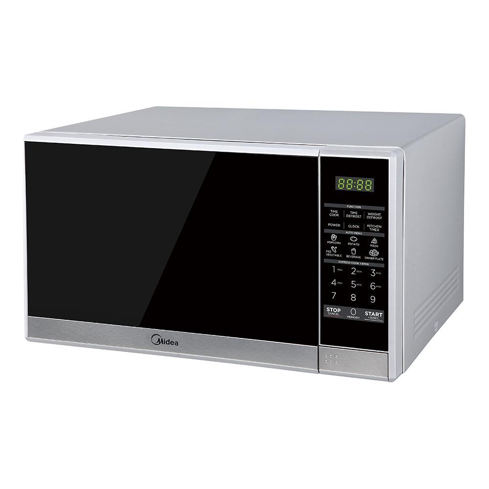 Midea MMW25S 25L Solo Digital Touch Sliver - Ople Appliances
