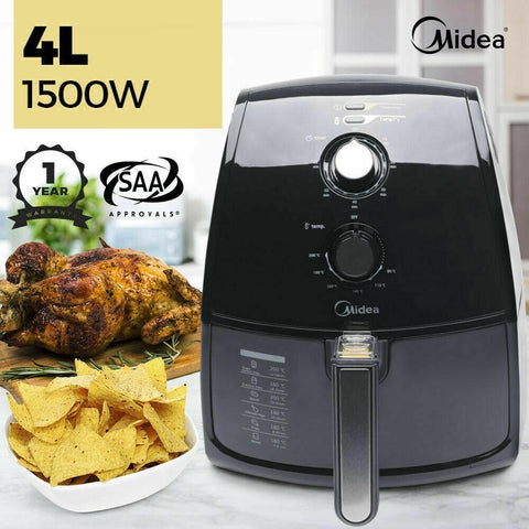 Midea MF-TN40A 4L Air Fryer Oven 1500W - Ople Appliances