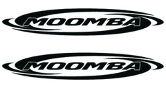 Moomba Boats Decal Sticker - Black