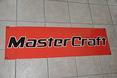 MasterCraft Boats Red with Black Banner