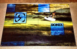 Ronix Danny Harf Blue Wakeboard Banner