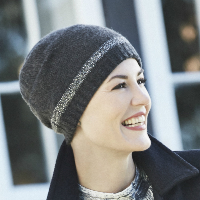 Christine Headwear Neve Beanie Hat knitted