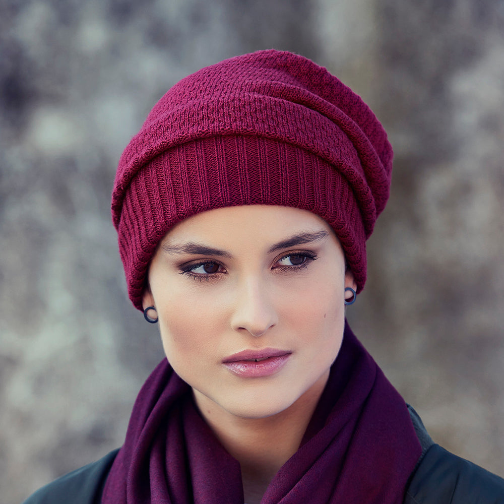 Christine Headwear Mille knitted Hat - Aderans Germany