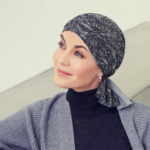 Christine Headwear Tula Turban printed