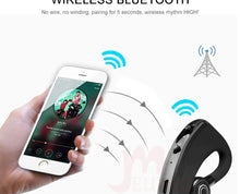 Load image into Gallery viewer, 2019 New V9 Wireless Bluetooth Earphone Car Handsfree Business Headset with Mic Ear-hook Earpiece for iPhone Samsung - iKindom