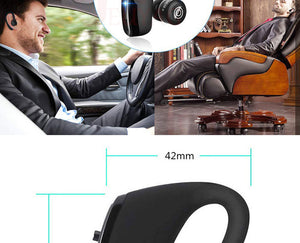 2019 New V9 Wireless Bluetooth Earphone Car Handsfree Business Headset with Mic Ear-hook Earpiece for iPhone Samsung - iKindom