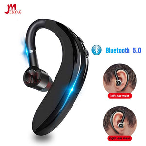 Newest Bluetooth 5.0 Wireless Earphone Stereo Handsfree Call Business Headset With Mic Earbud Earphone For iPhone Samsung - iKindom