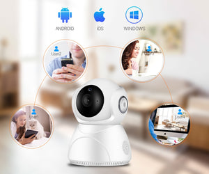 1080P 3MP Wifi IP Camera with Auto Tracking Security Camera