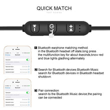 Load image into Gallery viewer, 5.0 Bluetooth Earphone Sports Neckband Magnetic Wireless earphones Stereo Earbuds Music Metal Headphones With Mic For All Phones - iKindom