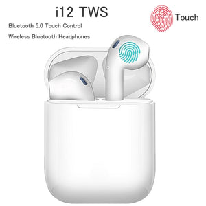 I12 TWS Wireless Headset Bluetooth Earphone Sport 5.0 Stereo Wireless Earbud for Apple IPhone Xiaomi Huawei Samsung Headphones - iKindom