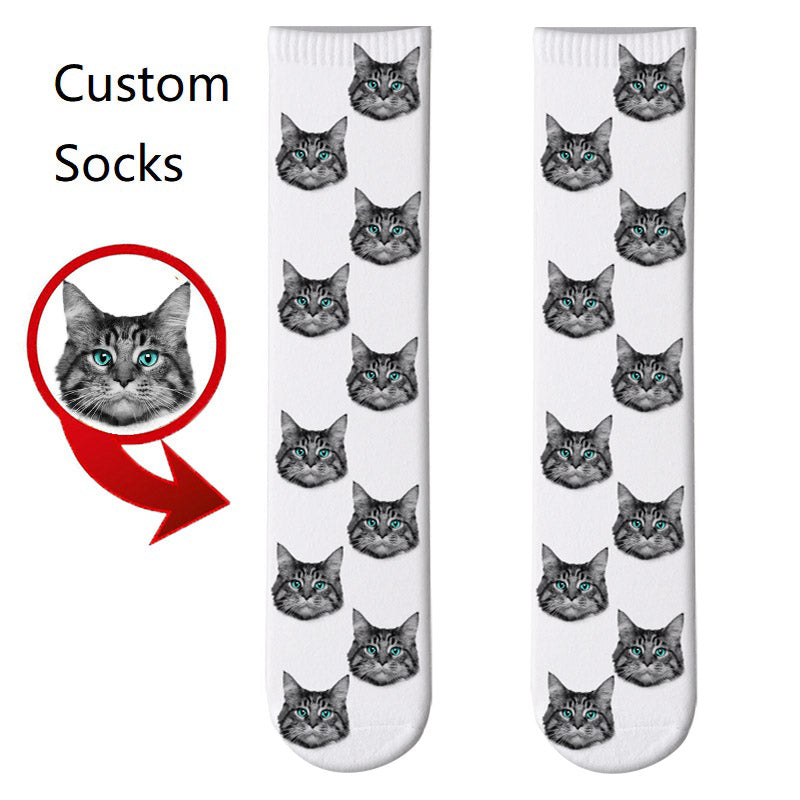 Pawpal 3D Printed Personalized Custom Socks