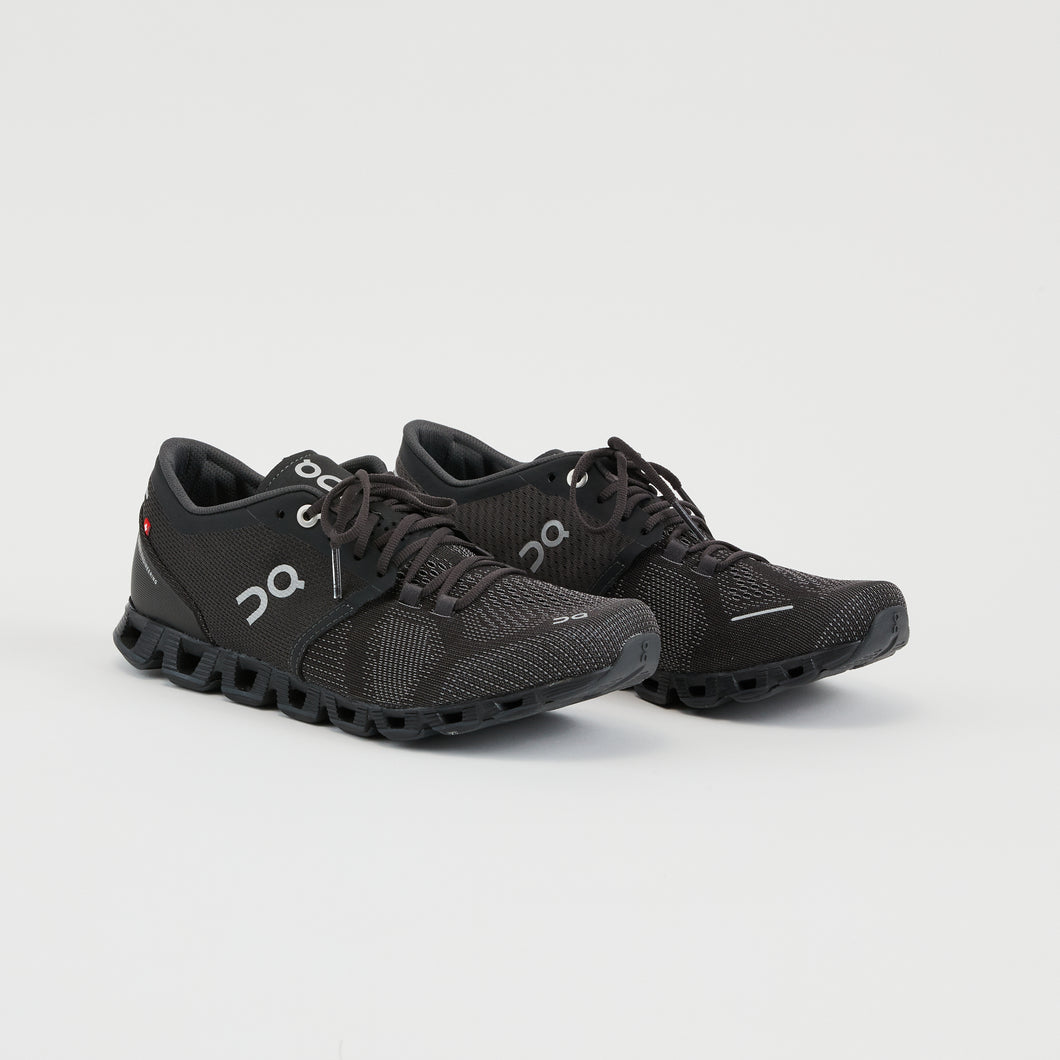 CLOUD X WOMEN | BLACK/ASPHALT