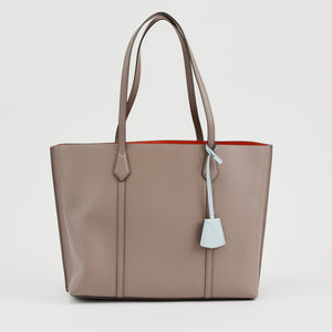 PERRY TRIPLE COMPARTMENT TOTE GRAY HERON