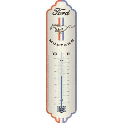 Ford Mustang  - Thermometer 28 x 6,5 cm