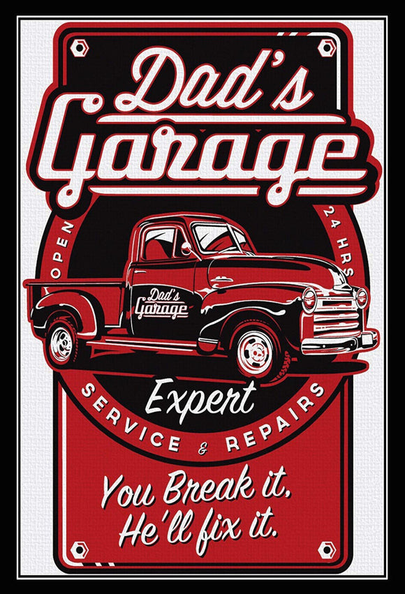 Dad's Garage - You break it, he'll fix it