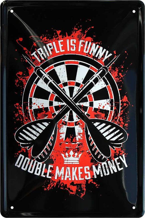 Triple is funny - Double makes money