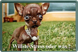 Willste Stress oder was