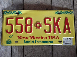 New Mexico US USA Kennzeichen Metallschild 30x15cm