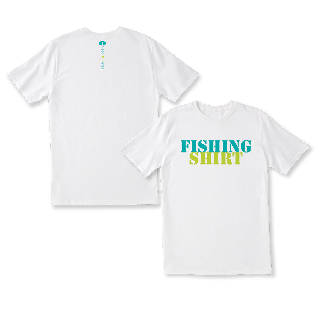 Fishing Shirt Tee: White