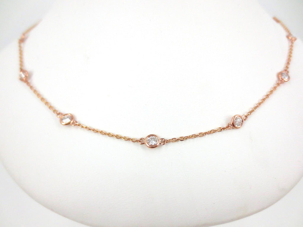 Diamond By The Yard Necklace - 1.50cts T.W