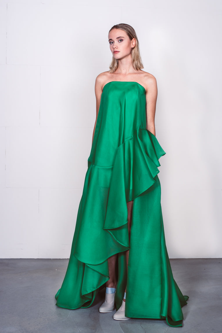 Couture dress green