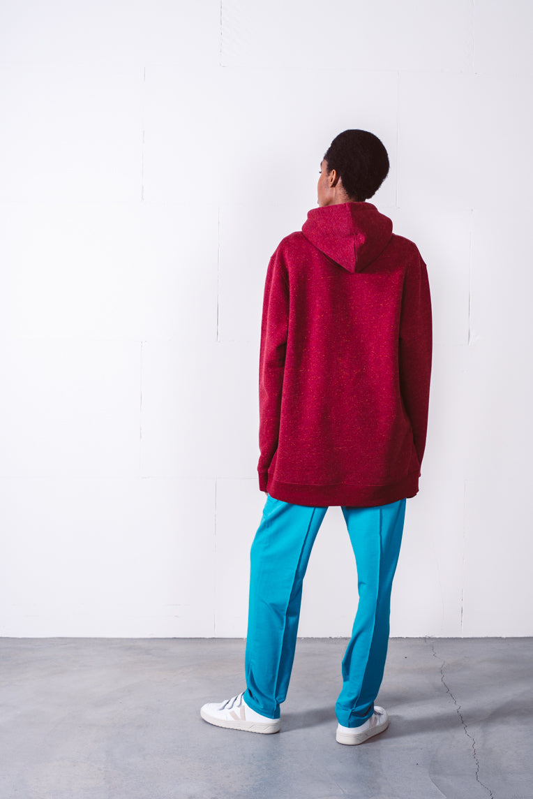 Hoodie heather burgundy