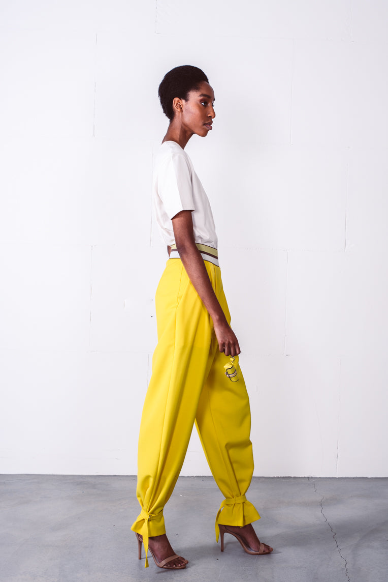 Emilie trousers yellow