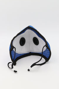 Sports Mask Blue PM2.5 Carbon Filter Mesh Wholesale Cheapest, Buy Now, In Stock, USA, Wholesaler, Distributor,