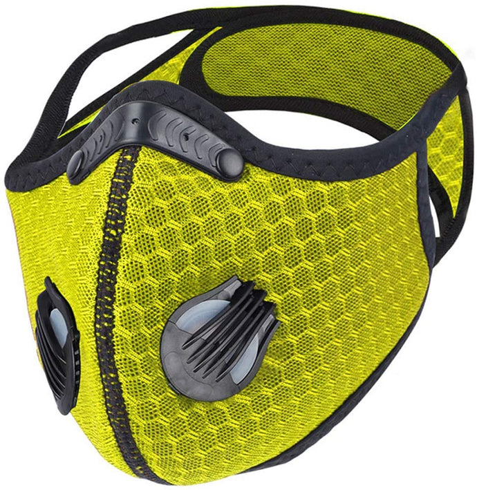 Sports Mask Red PM2.5 Carbon Filter Mesh Wholesale Cheapest, Buy Now, In Stock, USA, Wholesaler, Distributor,